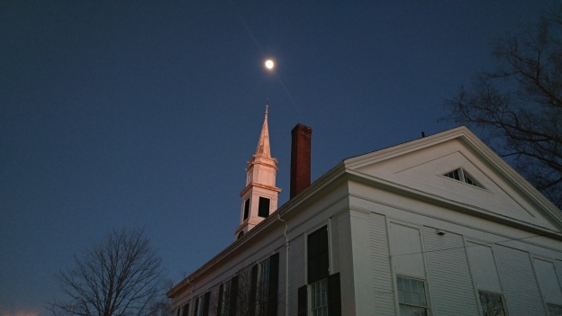 Steeple at Night credit Mimi Jones