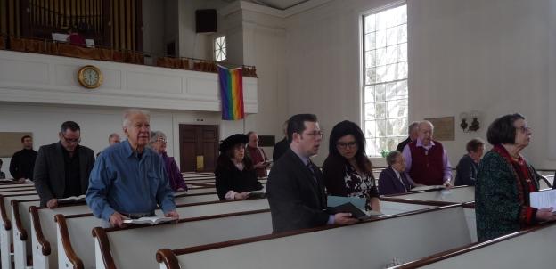 Congregation, credit Genevieve Fraser