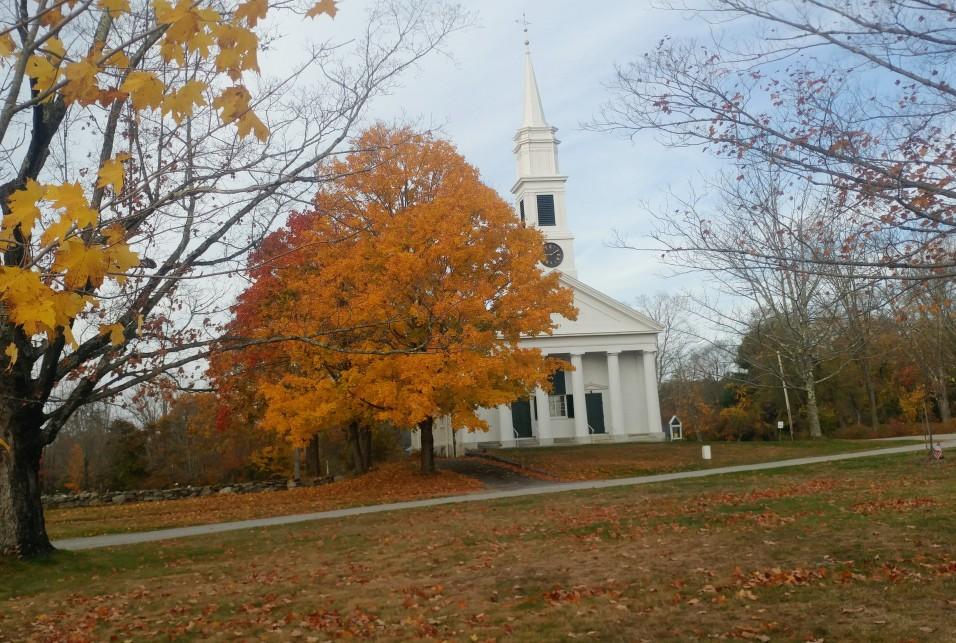 Church in the Fall 2020, Credit Mimi Jones